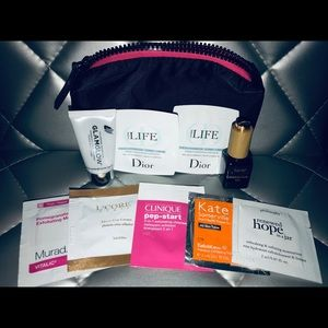 💖Sonia kashuk bag with high end skin care samples